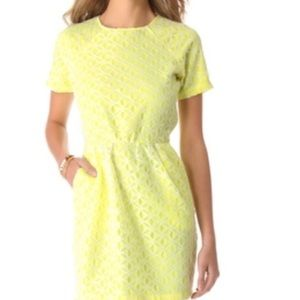 DV Dolce Vita Lemon & Lace Dress Small